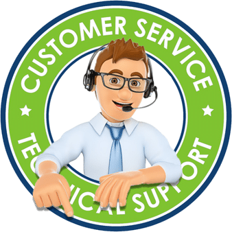 Tulsa Home Security | Technical Support Badge