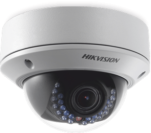 Tulsa Home Security | 4 MP Vandal-Resistant Dome Camera
